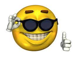 Meme Sunglasses - ironic meme smiley face with sunglasses art prints by kixlepixel