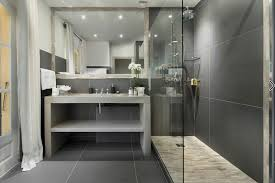 gray tile bathroom ideas 27 walk in shower tile ideas that will inspire you home