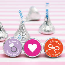 bridal shower favor bridal shower personalized hershey s kisses bridal shower favors