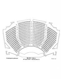 Concert Hall Floor Plan Seating Map Dinkelspiel Department Of Music