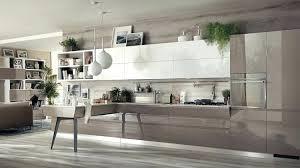 meuble cuisine taupe meuble cuisine taupe cuisine ouverte sur salon de design italien