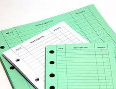 Mead Expense Tracker by Mead Organizher On The Go Expense Tracker Item 64011 I