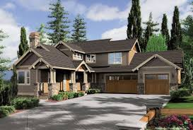 craftsman style home plans craftsman style ranch walkout basement zoom reverse house plans