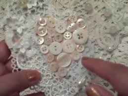 shabby chic crazy quilt heart ornaments inspired by yt crafters