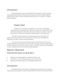100 pastry chef description 28 chef resume sample australia