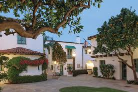 take an architectural tour of santa barbara spanish home and moment
