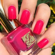 nails always polished estée lauder tumultuous pink