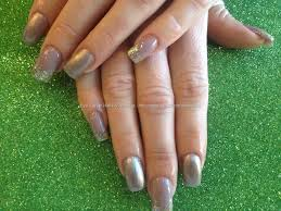 eye candy nails u0026 training acrylic nails with gold gelux gel