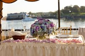 Rose Petal Table Cloth Michelle And Christopher U0027s Wedding At Beckwith Pointe New