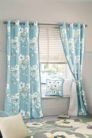 Searsca Sheer Curtains by Inspiration For A Pretty Floral Bedroom Soft Blue And White
