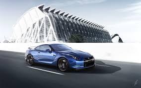 nissan gtr 2017 wallpaper download wallpaper 3840x2400 nissan gt r blue side view speed