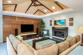 Modern Tropical Living Room Decorating Ideas Red Door Living