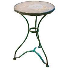 antique marble bistro table fabulous antique bistro table with vintage french iron bistro table
