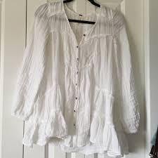 white flowy blouse 53 free tops free flowy white button up