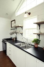 kitchen lighting over sink rectangular black global inspired