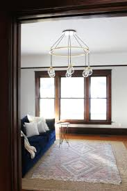 farmhouse living room the prettiest chandelier