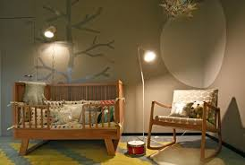 tree wall stencil contemporary nursery