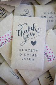 seed packet wedding favors wedding flower seed packets style by modernstork