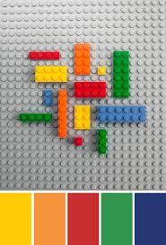 color inspiration lego bricks