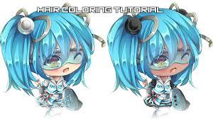 paint tool sai miruukii u0027s hair coloring tutorial youtube