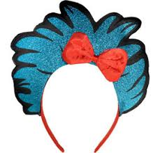 number 1 headband thing 1 thing 2 wand dr seuss party city
