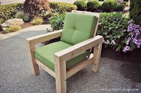 Diy Modern Patio Furniture Ana White Diy Modern Rustic Outdoor Chair Diy Projects