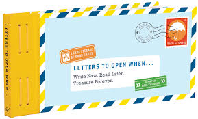 letters to open when write now read later treasure forever