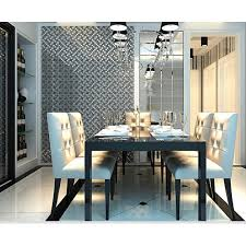 with black crystal glass mosaic tiles plated glass kitchen wall