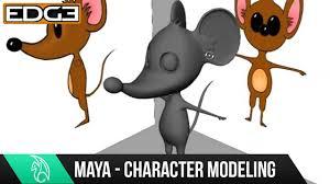 maya character modeling tutorial cartoon mouse hd 1 youtube