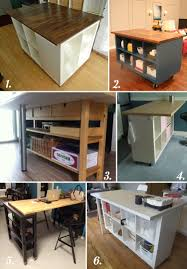 Ikea Hackers Kitchen Island Diy Cutting Table Ideas For Your Sewing Studio Island Table