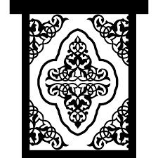 mosque buildings ornament islam frame arabesque arabic icon