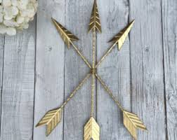 Decorative Arrows For Sale Gold Arrow Decor Tribal Arrow Southwestern Decor