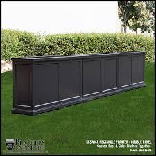 keswick rectangular planter box commercial u0026 patio garden planters