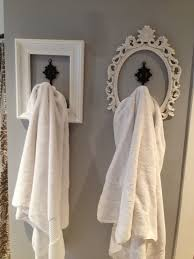 bathroom towel hanging ideas look for hanging towels etc used frames spray paint