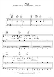 Chandelier Sia Piano Sheet Music Alive Sheet Music Digital Sheet Music Pinterest Sheet Music