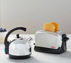 Toaster And Kettle Chrome Kitchen Appliances Pottery Barn Kids