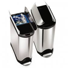 tips brilliant simplehuman recycler for domestic wasted organizer