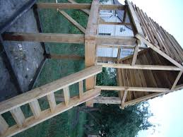 diy project playhouse with slide wood playhouse diy pool and