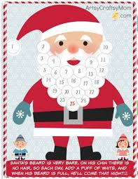 christmas calendar 13 free printable christmas advent calendars for kids
