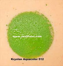 kryolan face paint aquacolor 512 medium green