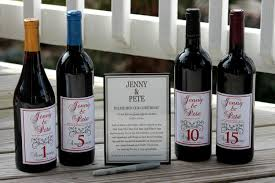 wine bottle guest book wine labels wedding guest book kit wine kit for