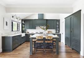 grey kitchen cabinets with white countertop 15 best green kitchens ideas for green kitchen design