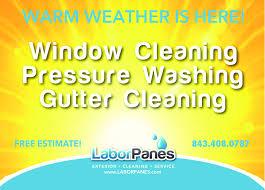 Pressure Washing Estimate by Panes
