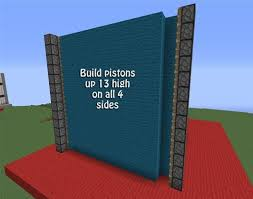 How To Make A Backyard Movie Screen by How To Create A Working Movie Screen In Minecraft With Pistons And