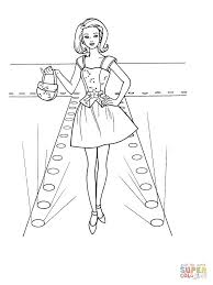 tulip dress coloring page free printable coloring pages