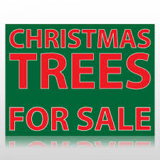 christmas trees for sale christmas trees for sale sign panel at speedysigns