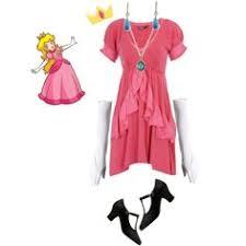 Peach Halloween Costume Diy Princess Peach