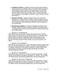 Resume Other Activities Resume Activities Example Template
