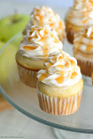 celebrate fall with this easy caramel apple cupcakes recipe