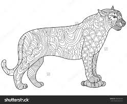 panther coloring pages itgod